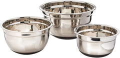 Kuchenprofi Mixing Bowl Set - Non-Slip (Stainless Steel)