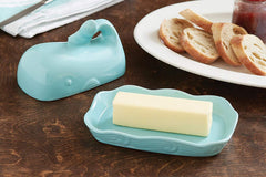Whale Butter Dish Set