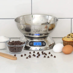 Escali Rondo Bowl Scale - Stainless Steel