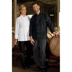 Chef Coat 10 Knot Black XL