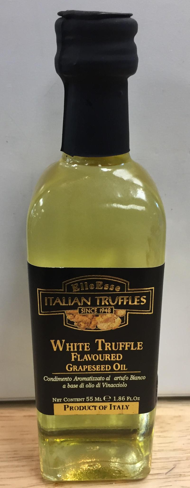 Elle Esse White Truffle Flavored Grapeseed Oil  55 ML