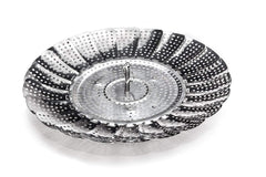 "Adjustable Steamer Basket 11"" Stainless Steel"