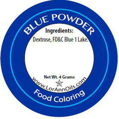 LorAnn Powder Food Coloring - Blue (4 grams)