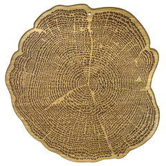 "Totally Bamboo Tree of Life Serving Board 13"" x 13"""