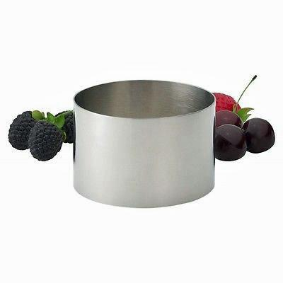 "Food Ring 2"" Stainless"