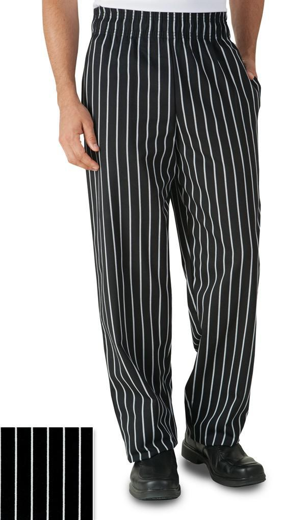 Chef Pant Basic Baggy Stripe M