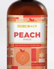 Shrub & Co Peach Shrub