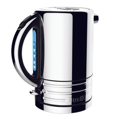 Dualit Design Series 1.5 Liter Kettle - Black and Steel
