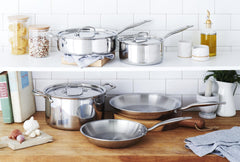 Heritage Steel Core Cookware Set (8 piece)