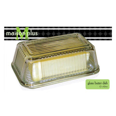 "Maison Plus Butter Dish - Wide (6.5"" x 4"")"
