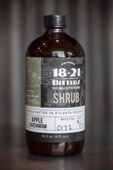 1821 Shrub Apple/Cardamom 16 ounce