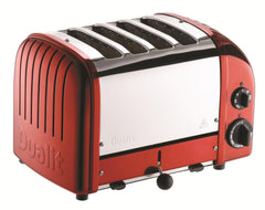 Dualit 4 Slice NewGen Toaster Candy-Apple Red