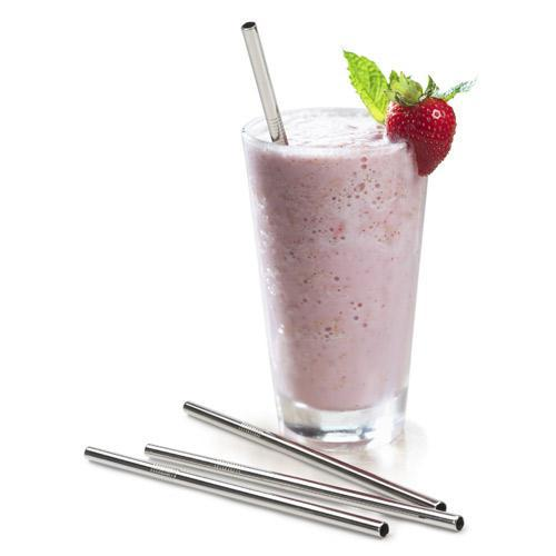 Endurance Stainless Steel Drink Straws (Set Of 4)