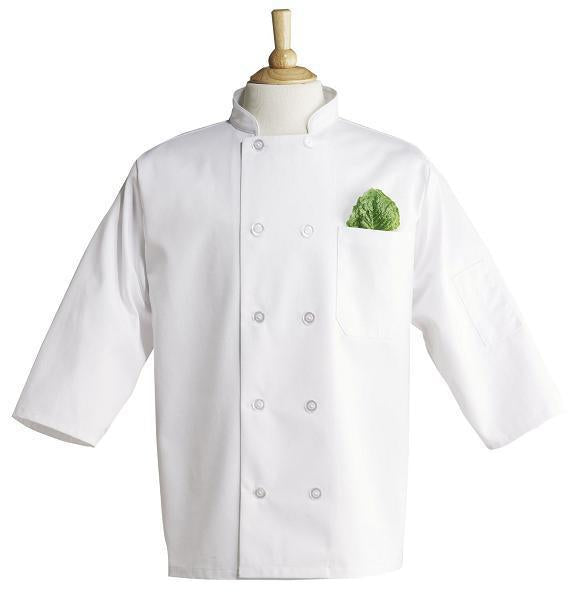 Chef Coat White 10 Button Med