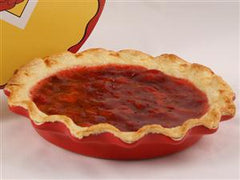 Rose's Pie Plate Red