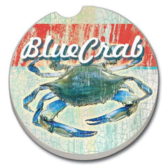 Car Coaster - Blue Crab