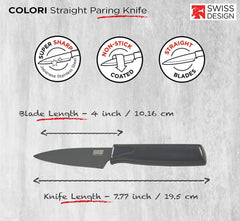 "Kuhn Ricon 4"" Paring Knife - Smoke"
