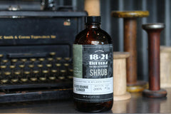 1821 Shrub Blood Orange/Ginger 16 ounce