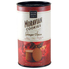 Moravian Cookies Ginger 3 oz