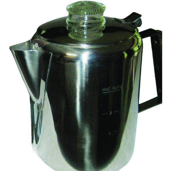 Percolator 9 Cup - Stainless
