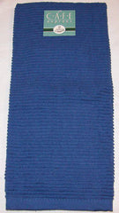 Ribbed Kitchen Towel: Indigo
