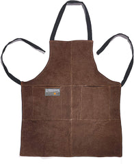 Outset Leather Grill Apron - Brown