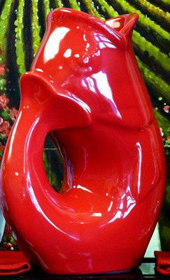 Gurglepot Bright Red Large