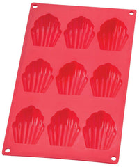Madeleine Pan Silicone Red