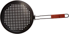 Charcoal Companion Pizza Grilling Pan (Non-Stick)