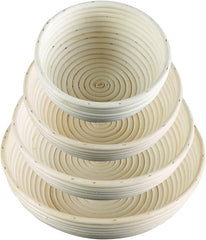 "Brotform Proofing/Forming Basket - 10"" Round"