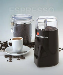 Espressione Rapid Touch Coffee Grinder - Black