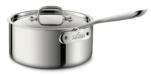 All Clad Sauce Pan W/Lid 3 qt