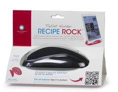 Architec Tablet Holder Recipe Rock - Matte Black