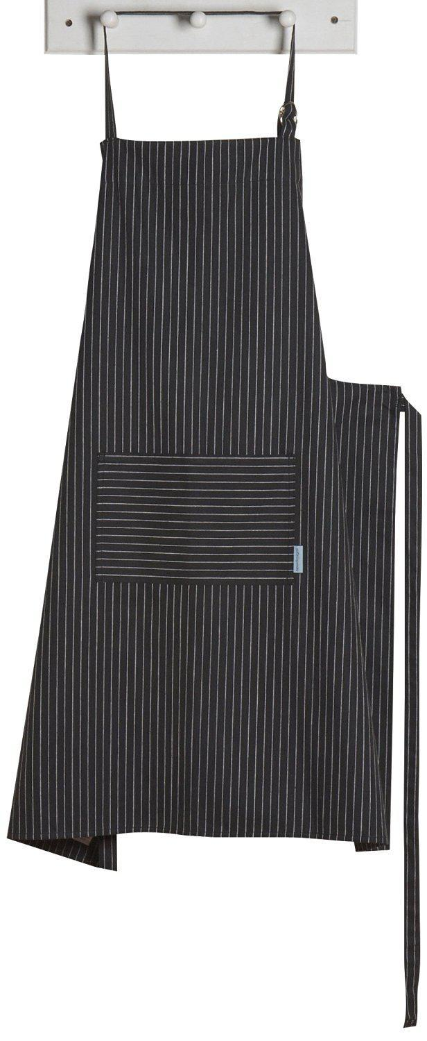 Apron Mighty Pinstripe Black