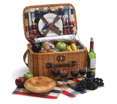 Oak & Olive Rustica 4 Person Picnic Basket
