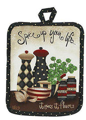 Pot Holder Spice Up Your Life