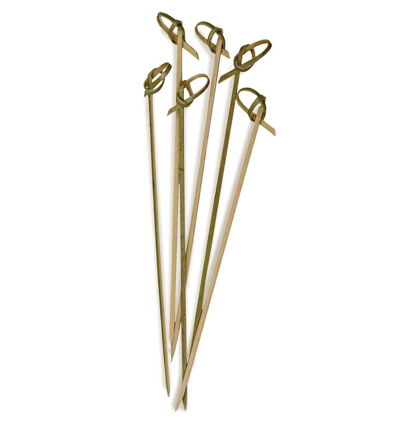 Bamboo Appetizer Knot Picks 6.5""