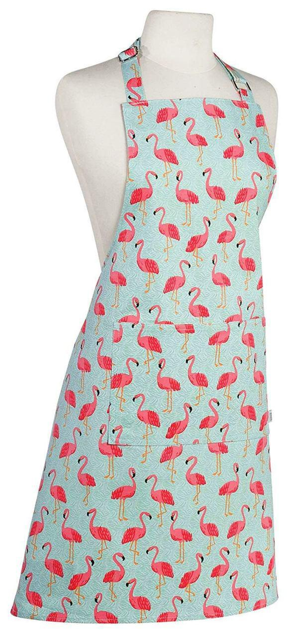 Chef Apron Flamingos