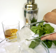 Endurance Cocktail Ice Tongs - Stainless Steel