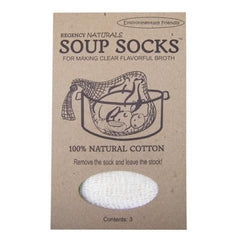 Natural Soup Sock - Set of 3