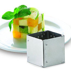 Adjustable Square to Rectangle Food Ring