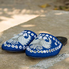 Kai - JUJU by Jyoti Sardar - handmade hand embroidered vegan shoes for women