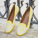 Sol - JUJU by Jyoti Sardar - handmade hand embroidered vegan shoes for women