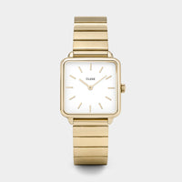 CLUSE La Tétragone Single Link Gold/White CL60023S - Montre