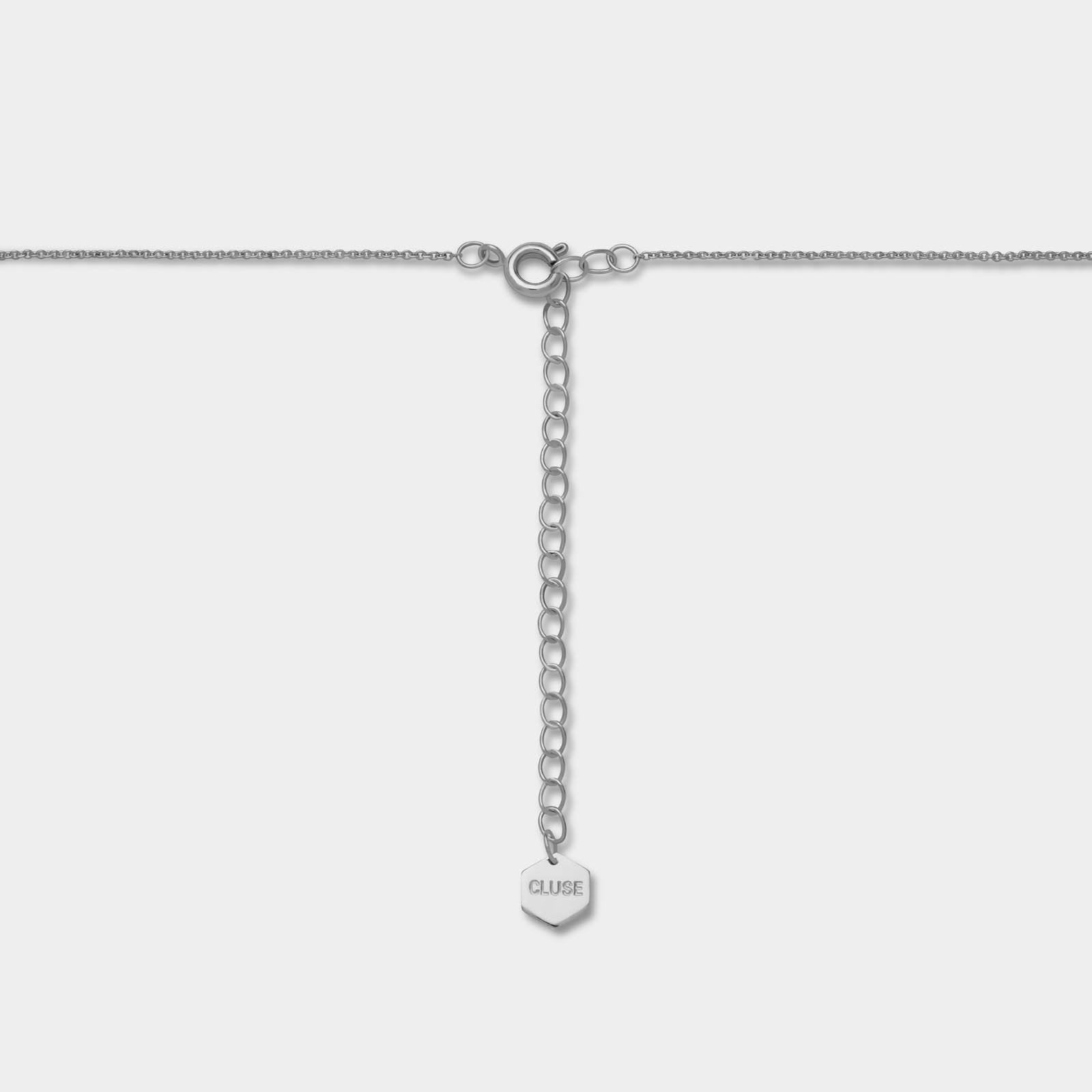 taille 40 844a8 2bdde Essentielle Silver Open Circle Choker Necklace CLJ22002 ...