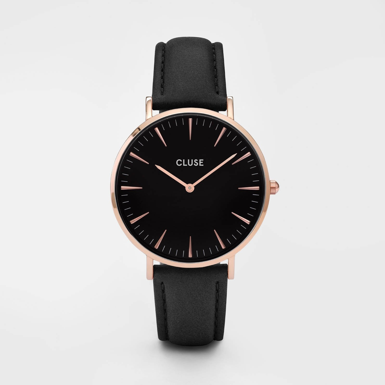 CLUSE La Bohème Rose Gold Black/Black CL18001 - Montre