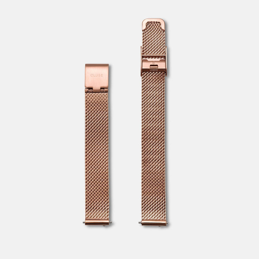 CLUSE Strap 12 mm Mesh Rose gold/Rose gold CS1401101046 - bracelet de montre