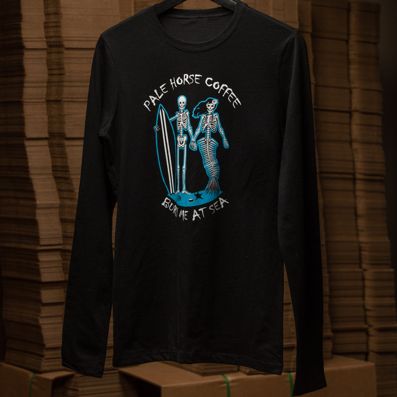 The Official Women's Bury Me at Sea Long Sleeve Tee