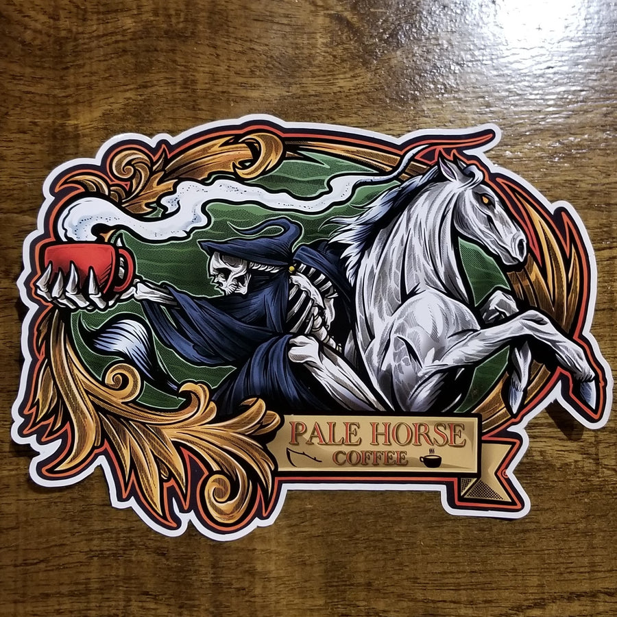 Death's Ride Sticker