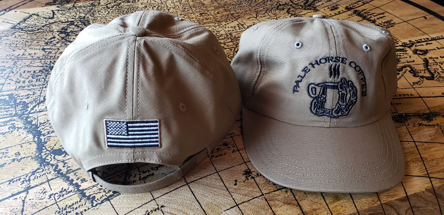 PHC Coyote Ripstop Slide Buckle Dad Cap Made in the USA